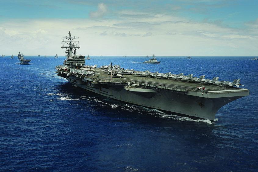 warship using rf technology