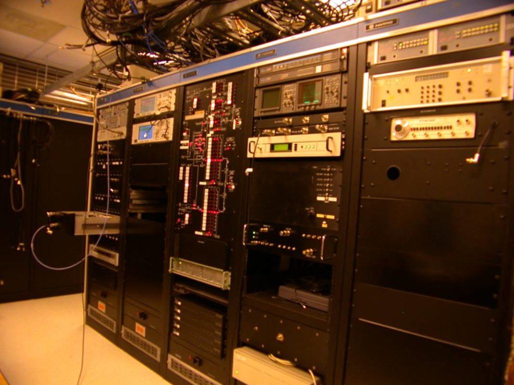 RF recording lab circa 1999